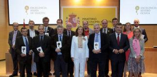 Acto de entrega das acreditacións en Madrid. Foto: SINC.