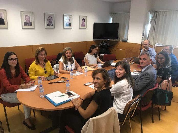 Reunión de traballo celebrada en Braga. Imaxe: ZFV.