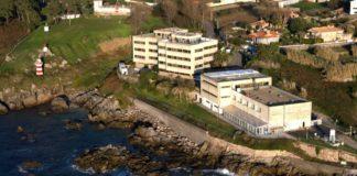 Instalacións do Centro Oceanográfico de Vigo (IEO) en Cabo Estai.