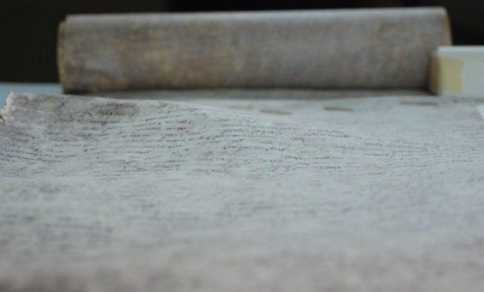 O documento conservouse ata o século XVII no castelo de Sant'Angelo. Foto: G. Vendittozzi.