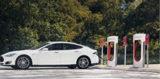 A multinacional anunciou outras catro estacións preto de Galicia, en Oviedo, Ponferrada, Braga e Vila Real. Imaxe: Tesla.com.