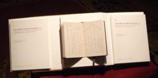 """""""Con el alba: El Cuaderno de Francia (1916). Manuscrito inédito de Ramón María del Valle-Inclán. Imaxe: USC."""