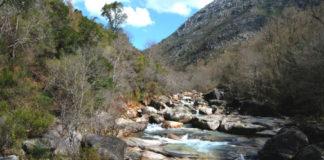 Río Barcia, tamén chamado Castro Laboreiro, en Olelas (Entrimo) na serra do Xurés. Foto: R. Pan.