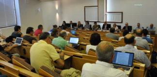 Reunión do consello de goberno da UVigo. Foto: Duvi.