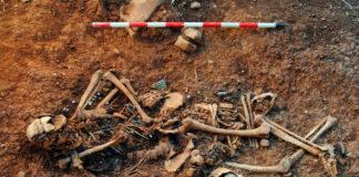 Un dos corpos atopados en Abánades. Imaxe: Incipit / CSIC.