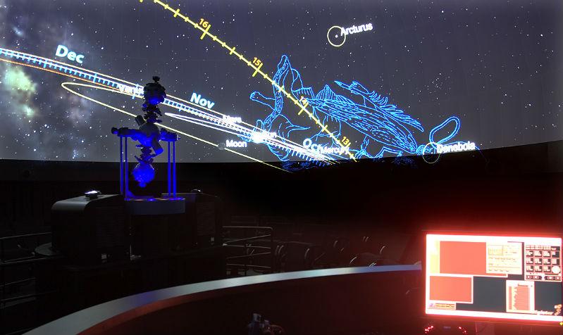 Planetario Casa das Ciencias: Foto: Museos Científicos Coruñeses / CC BY-SA 2.0.