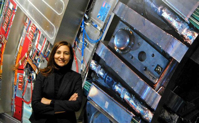Mar Capeáns foi a primeira muller española en converterse en persoal fixo da plantilla do CERN. Foto: R. Pan.