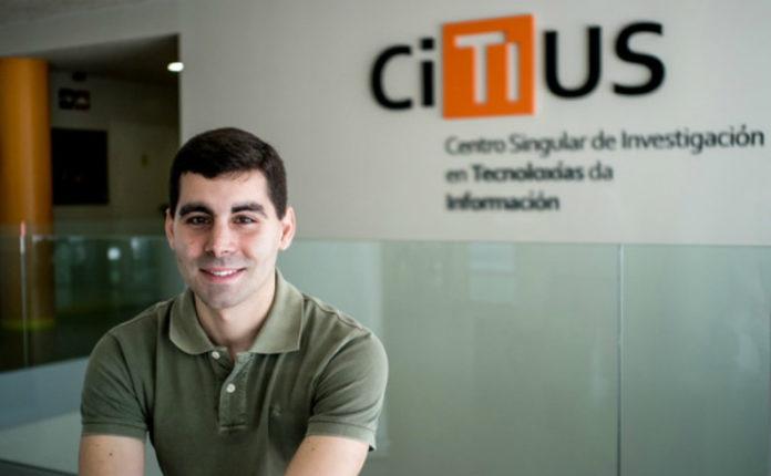 Alejandro Ramos, na sede do CiTIUS da USC. Foto: CiTIUS.