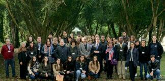 Unha das reunións do grupo, celebrada na illa de San Simón. Foto: Duvi.
