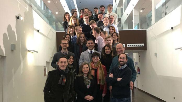 Expertos do proxecto Run4Life, na reunión celebrada en Porto do Molle. Foto: ZFV.