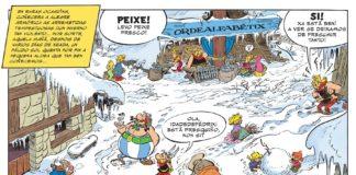 Viñeta de Astérix no novo cómic de Edicións Xerais de Galicia.