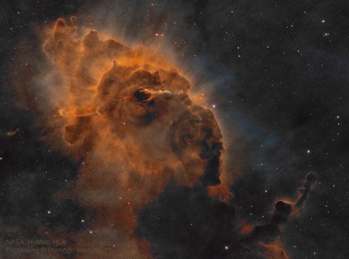 Créditos da imaxe: NASA, ESA, Hubble, HLA. Procesado e copyright: Domingo Pestana
