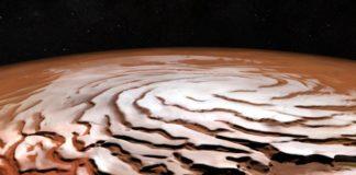Créditos da imaxe: ESA/DLR/FU Berlin; equipo científico NASA MGS MOLA