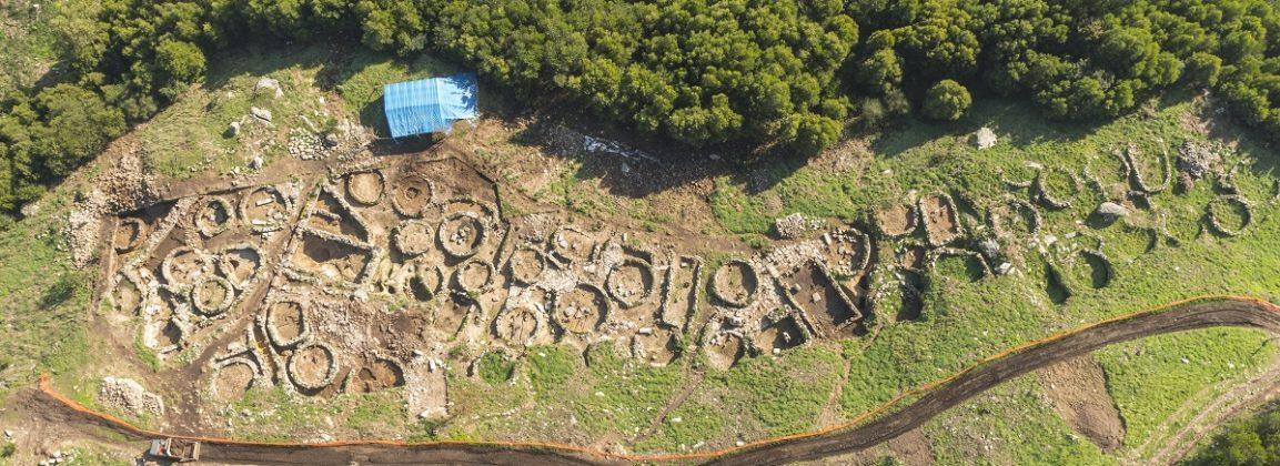 Escavación no castro do monte Trega, na Guarda.