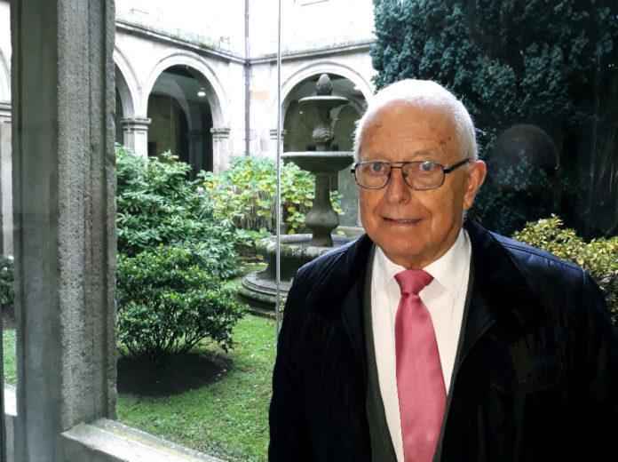 Francisco Díaz-Fierros é profesor emérito da USC e unha referencia no estudo do solo en Galicia. Foto: R. Pan.