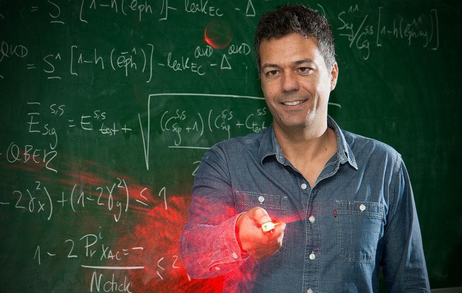 Marcos Curty é investigador de AtlantTTic e profesor da Universidade de Vigo. Foto: Duvi.