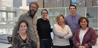 Científicos da UVigo que participarán no proxecto sobre o percebe. Foto: Duvi.