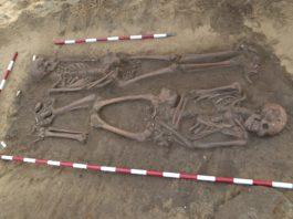 A maioría de solos galegos, bastante ácidos, desintegran 'rapidamente' os ósos. No caso de terreos areosos, como este da Lanzada, os esqueletos poden durar máis, ata milleiros de anos.
