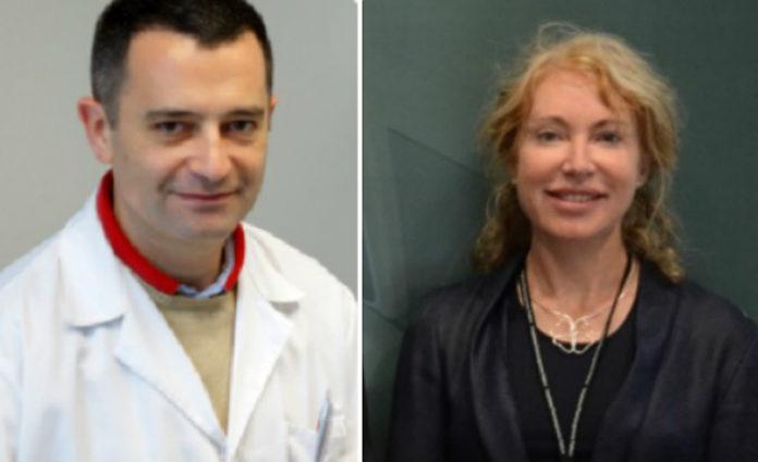 José Brea e Mabel Loza, investigadores do grupo Biofarma da USC.