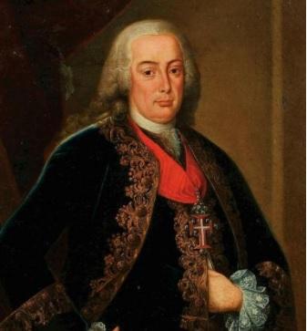 Retrato do marqués do Pombal.