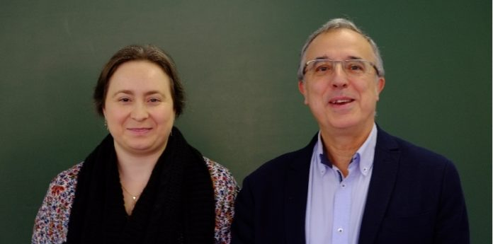 Rosana Rodríguez e Juan José Nieto, nunha imaxe de arquivo. Foto: Servimav-USC.