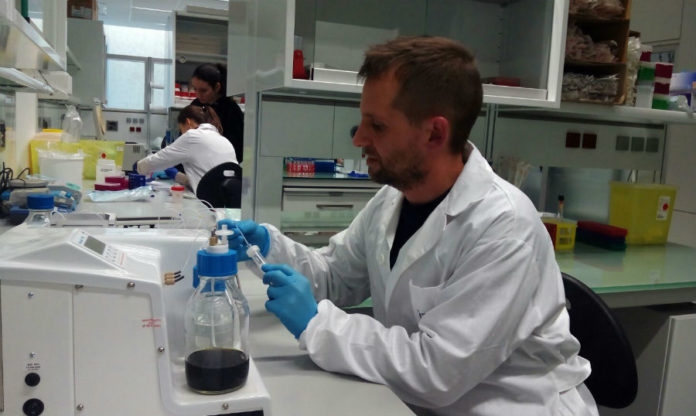 Laboratorio de Oncomet.