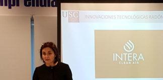 Dolores Cortina, profesora de Física da USC e asesora científica de Intera. Imaxe: Intera.