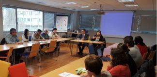 Reunión da Cátedra do Pan este luns en Lugo. Imaxe: USC.