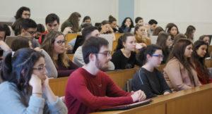 O concurso presentouse na Facultade de Comunicación da USC. Foto: Anxo Iglesias.