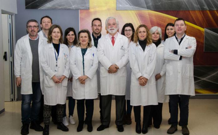Investigadores do IDIS que participarán no estudo sobre a dexeneración macular. Foto: IDIS.