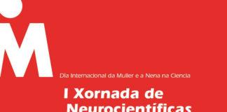 Cartel do acto que terá lugar na Coruña con motivo do Día da Nena e a Muller na Ciencia.
