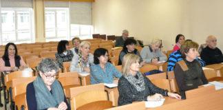 Aula do programa de maiores da UVigo. Foto: Duvi.