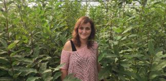 Beatriz Míguez é a autora da tese sobre a mellora xenética dos castiñeiros. Foto: Duvi.