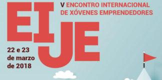 Cartel do Encontro Internacional de xóvenes emprendedores.