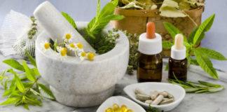 Produtos homeopáticos.