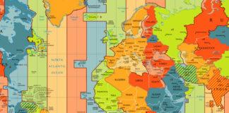 Galicia sitúase na mesma lonxitude ca países que contan cunha hora menos.