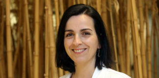 María de la Fuente é a directora do laboratorio de Nanooncoloxía do Instituto de Investigación Sanitaria de Santiago. Imaxe: Oncomet.