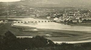 Vista da cidade a comezos do século XX.