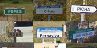 Entre os milleiros de nomes da toponimia galega atópanse nomes bastante curiosos.