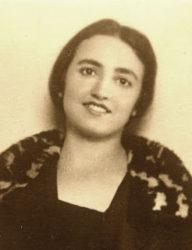 Retrato de Jimena Fernández de la Vega.
