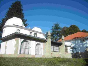 O Observatorio inicial de Ramón María Aller Ulloa, hoxe convertido en museo