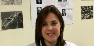 Azucena Mora, primeira autora do estudo publicado en Scientific Reports. Imaxe: USC.
