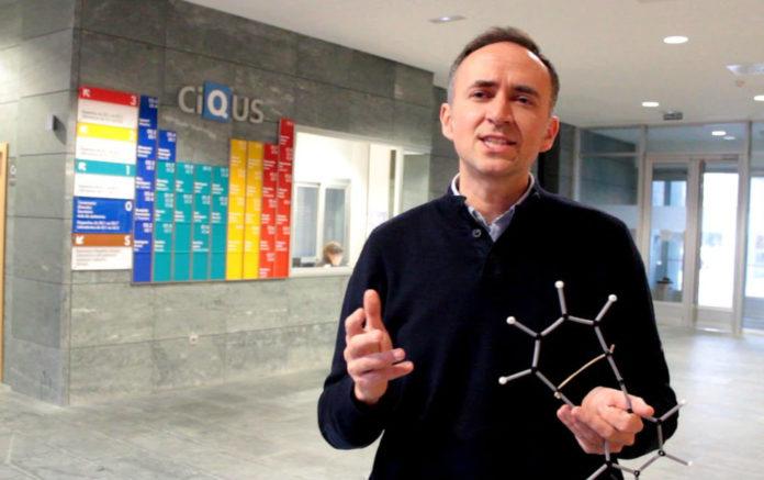 Diego Peña, químico do CiQUS.
