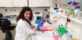 Andrea Fernández é a autora da tese sobre a fibrose. Foto: Duvi.