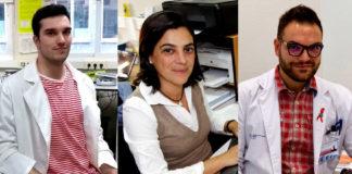 Mauro Lago, Diana Valverde e Guillermo Pousada, tres dos autores do estudo. Imaxes cedidas por Guillermo Pousada.