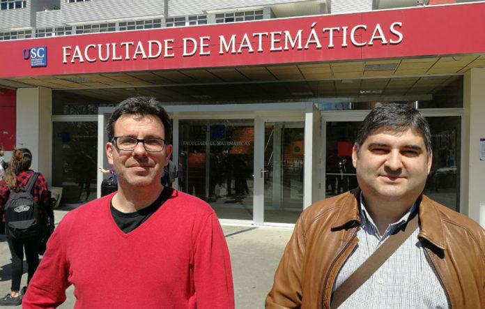 Manuel Oviedo e Manuel Febrero, investigadores galegos que participaron no desenvolvemento do modelo. Imaxe: USC.