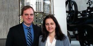 Todd e Sonia viven en Washington desde hai case 10 anos. Imaxe: R. Pan.