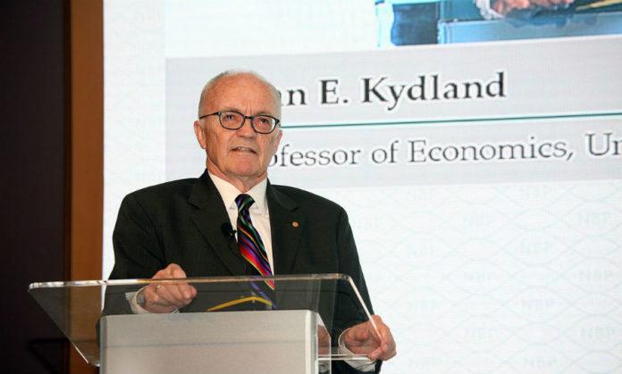Finn Kydland. Imaxe: Narodowy Bank Polski - CC BY-SA 2.0.