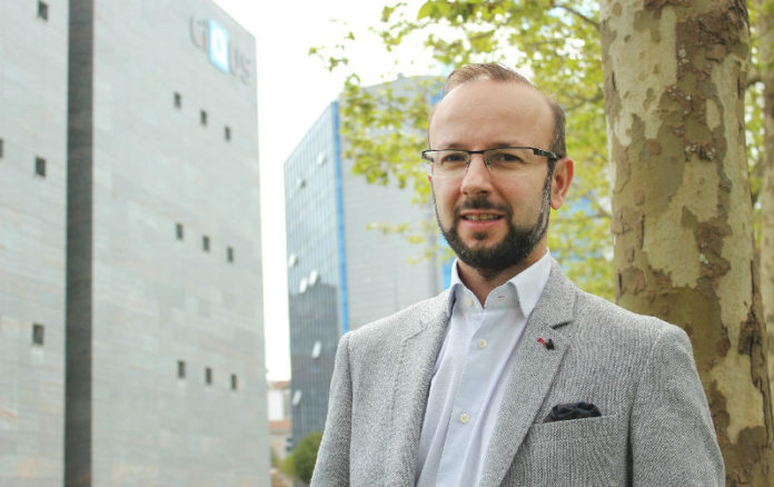 Javier Montenegro obtivo en 2015 unha Starting Grant do Consello Europeo de Investigación. Foto: USC.