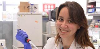 Ana Igea, científica da UVigo que participou no estudo sobre o cancro de mama. Foto: Duvi.